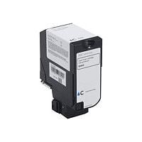 Dell - cyan - original - toner cartridge - Use and Return