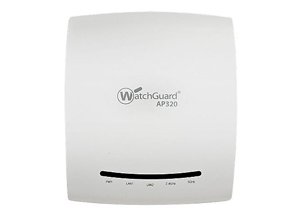 WatchGuard AP320 - wireless access point - with 3 years Total Wi-Fi