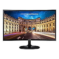 Samsung CF390 Series C27F390FHN - LED monitor - curved - Full HD (1080p)
