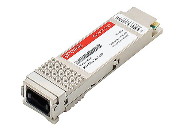 Proline Cisco QSFP-100G-SR4-S Compatible QSFP28 TAA Compliant Transceiver -