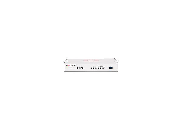 Fortinet FortiGate 50e - security appliance - with 1 year FortiCare 8x5 Ent