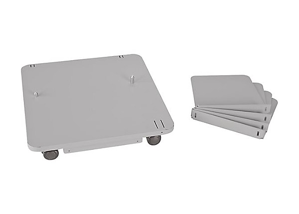 Ricoh Caster Table Type M24 - printer caster base - with Stabilizers