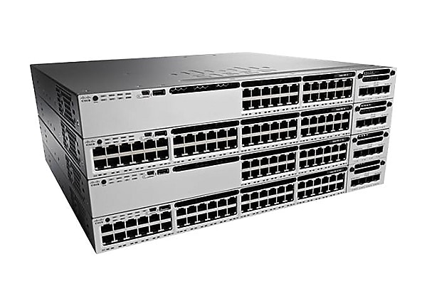 Cisco ONE Catalyst 3850-48XS-S - switch - 48 ports - managed - rack-mountab