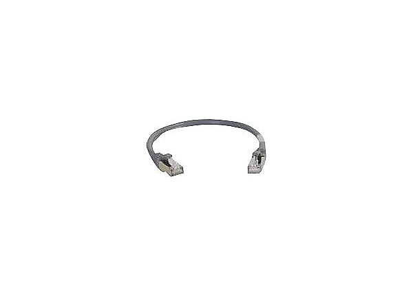 C2G 6in Cat6 Snagless Shielded (STP) Ethernet Network Patch Cable - Gray -