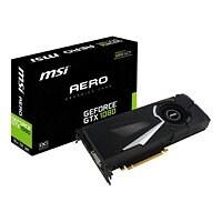 MSI GTX 1080 AERO 8G OC - graphics card - GF GTX 1080 - 8 GB