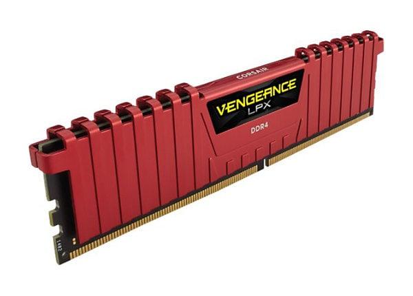 CORSAIR Vengeance LPX - DDR4 - kit - 16 GB: 2 x 8 GB - DIMM 288-pin - unbuf