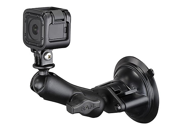 RAM Twist Lock support system - suction mount