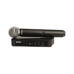 Shure BLX Wireless System BLX24/SM58 - wireless microphone system