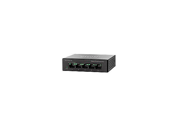 Cisco Small Business SG 100D-05 - switch - 5 ports - unmanaged