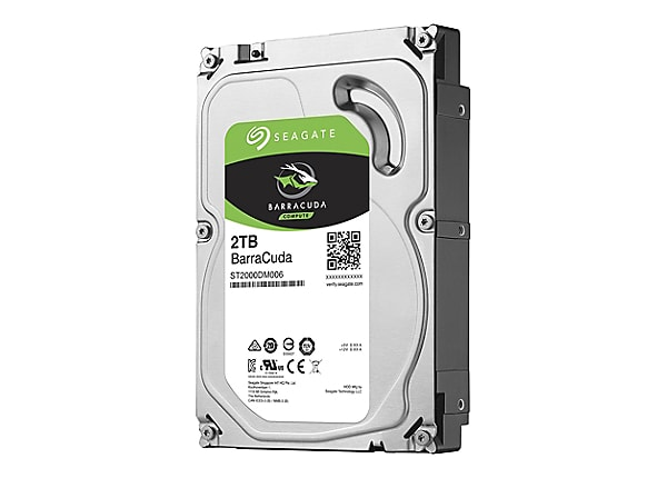 Seagate Barracuda ST2000DM006 - hard drive - 2 TB - SATA 6Gb/s