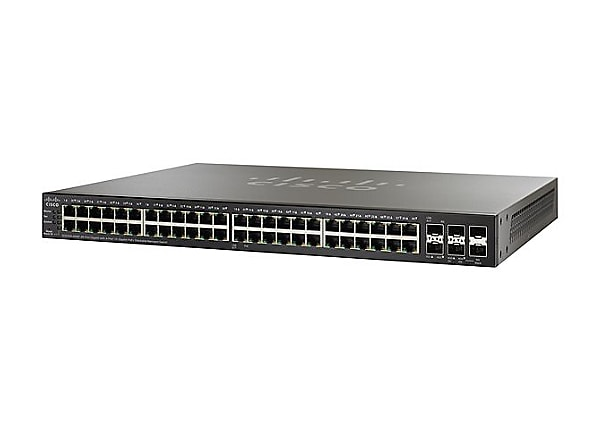 Cisco Small Business SG500X-48MP - switch - 48 ports - managed - rack-mount