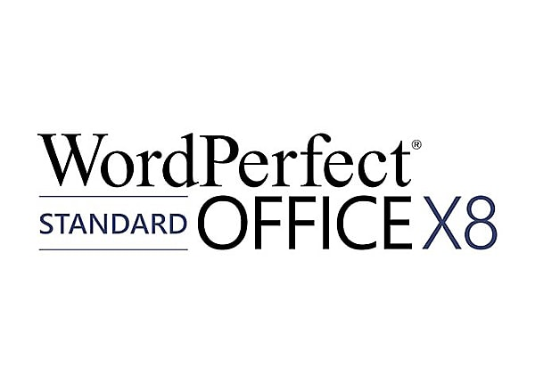 WordPerfect Office X8 Standard Edition - media