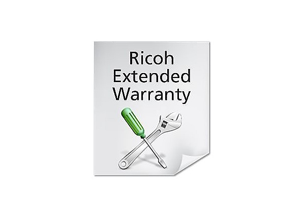 Ricoh On-site Service extended service agreement - 2 years - on-site