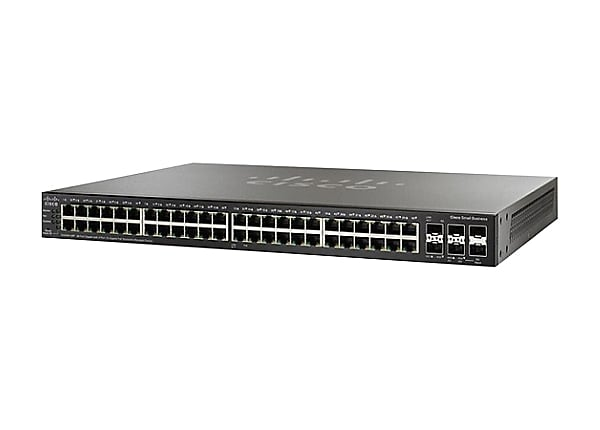Cisco Small Business SG350X-48P - switch - 48 ports - managed - rack-mounta