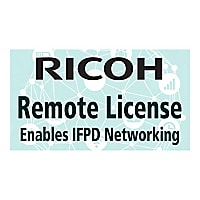 Ricoh Interactive Whiteboard Remote License Type 1 - license - 1 session