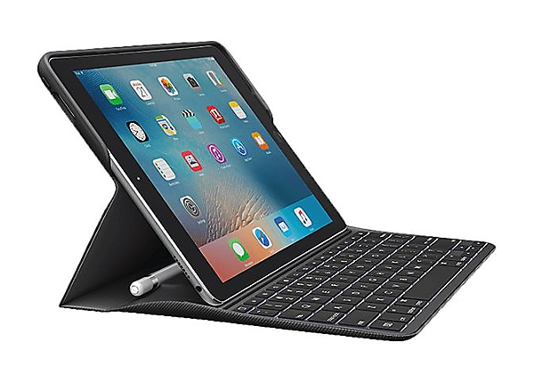 Logitech CREATE - keyboard and folio case for 9.7-inch iPad Pro - black