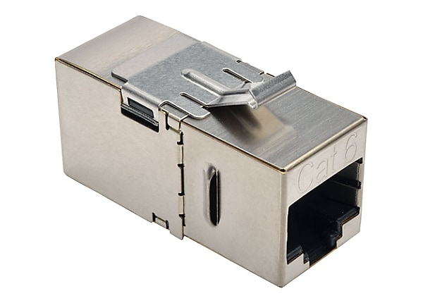 Tripp Lite Cat6 Straight Through Modular Shielded In Line Coupler RJ45 F/F
