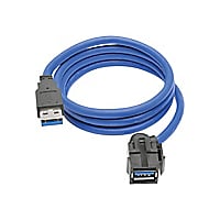 Tripp Lite USB 3.0 Superspeed Keystone Jack Type-A Extension Cable M/F 3 ft