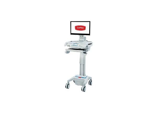 Capsa Healthcare CareLink Mobile Nurse Station - cart