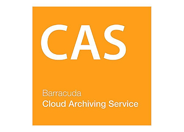 Barracuda Cloud Archiving Service for Office 365 - subscription license (3 years) - 1 user