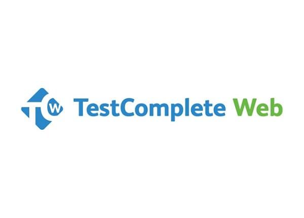 TestComplete Web Module - maintenance (renewal) (1 year) - 1 floating user