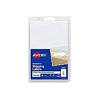 Avery Shipping Labels 05292 - shipping labels - 20 label(s) - 4 in x 6 in