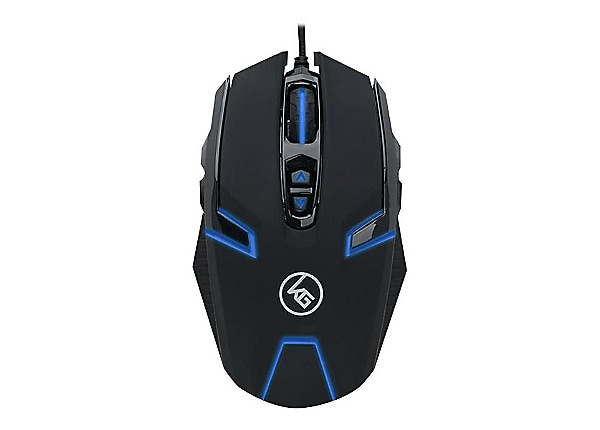 Kaliber Gaming SYMMETRE Ambidextrous Gaming Mouse - mouse - USB