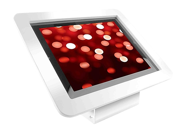 "Compulocks Executive 45° iPad 9.7"" Wall Mount / Counter Top Kiosk White - m"