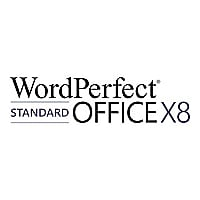 WordPerfect Office X8 Standard Edition - license - 1 user