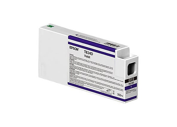 Epson T824D - violet - original - ink cartridge