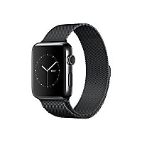 Apple Watch Series 2 - stainless steel - smart watch with milanese loop spa