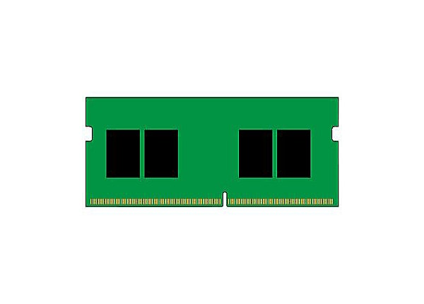 Kingston ValueRAM - DDR4 - module - 8 GB - SO-DIMM 260-pin - 2400 MHz / PC4
