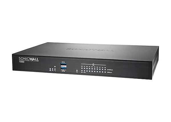 SonicWall TZ600 - Advanced Edition - security appliance - Secure Upgrade Pl