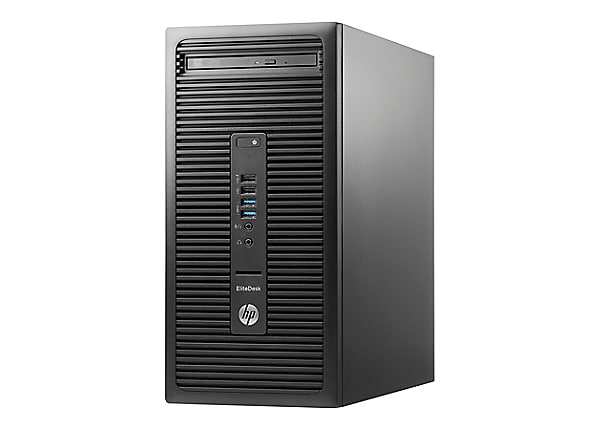 HP EliteDesk 705 G3 - micro tower - A12 PRO-9800 3.8 GHz - 16 GB - 512 GB -