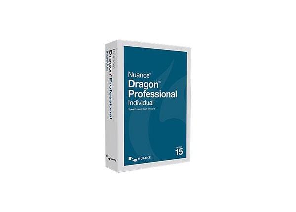 Dragon Professional Individual (v.15) - box pack - 1 user
