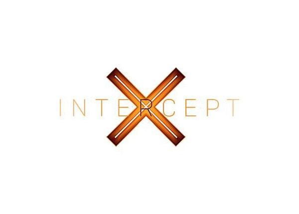 Sophos Central Intercept X - competitive upgrade subscription license (2 ye