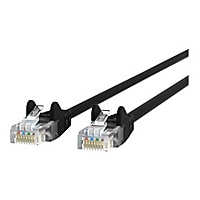 Belkin 10ft CAT6 Ethernet Patch Cable Snagless, RJ45, M/M, Black - patch ca