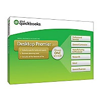 QuickBooks Desktop Premier 2017 - box pack