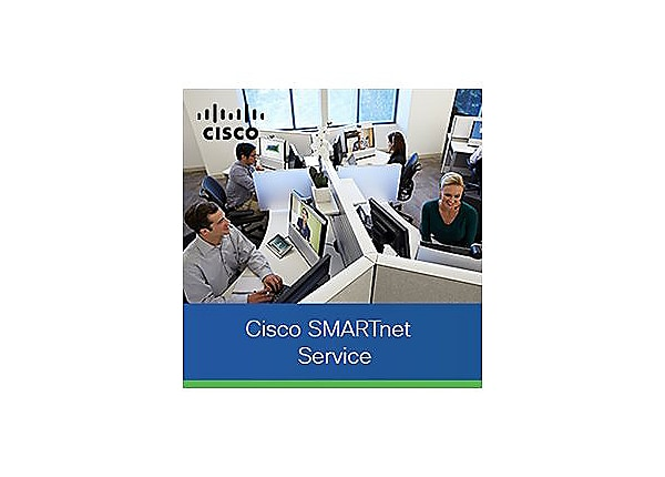 Cisco SMARTnet Onsite - extended service agreement - on-site