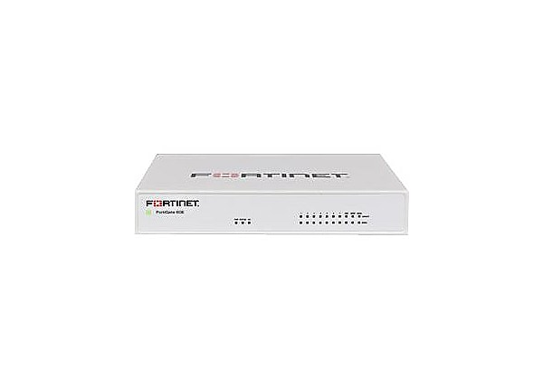 Fortinet FortiGate 61E - security appliance - with 1 year FortiCare 8x5 Ent