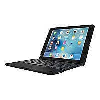 Incipio ClamCase+ Power - keyboard and folio case - with power bank - black