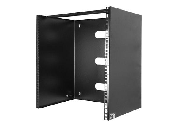 StarTech.com 12U 12in Wall-Mount Bracket for Shallow Rack-Mount Equipment