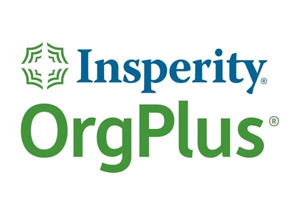 OrgPlus Professional 750 (v.11) - upgrade license - 500 users
