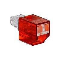 Leviton Secure RJ Port Blocker - patch panel port blocker
