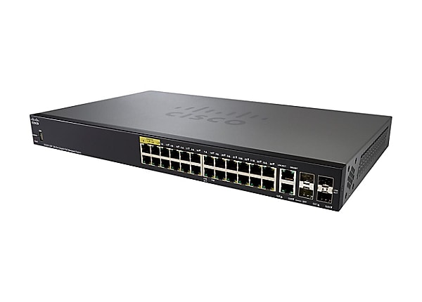 Cisco Small Business SG350-28P - switch - 28 ports - managed - rack-mountab