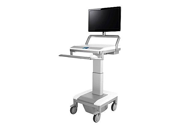 Humanscale TouchPoint T7 Powered PC Gantry with UFEA and ...