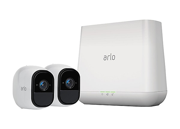 Arlo Pro Security System – 2 Rechargeable Wire-Free HD Cameras (VMS4230)