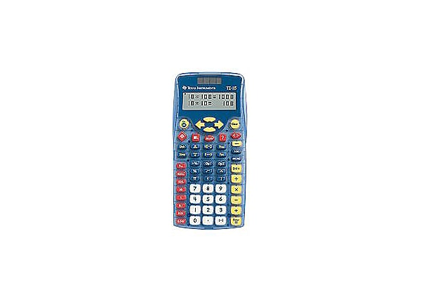 Texas Instruments TI-15 Explorer - pocket calculator