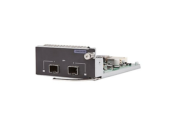 HPE 2-port 10GbE SFP+ Module - expansion module