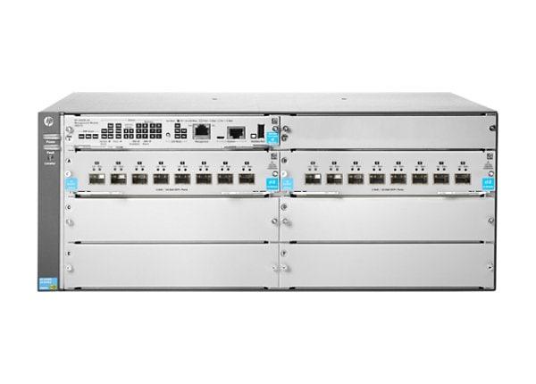 HPE Aruba 5406R 16-port SFP+ (No PSU) v3 zl2 - switch - 16 ports - managed